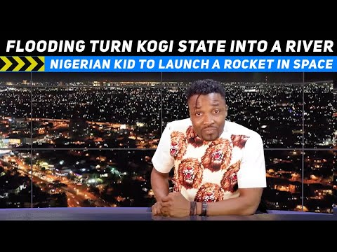 Heavy floods turn Kogi State into a River; Nigerian to Launch a rocket in Space (Pararan Mock News)
