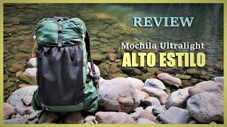 Mochila Ultralight ALTO ESTILO - Mochila Ultraleve 100% Nacional