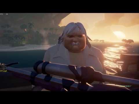 Sea of Thieves - La grosse femme moustachue a Thomas!