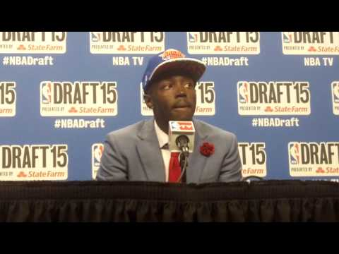 Jerian Grant on talking to Uncle Horace Grant about Triangle, Phil at 2015 NBA Draft
