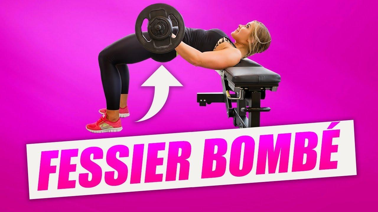 LE MEILLEUR EXERCICE POUR UN FESSIER BOMBÉ ! (Hip Thrust ...