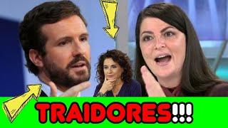 MACARENA OLONA TRITURA a CASADO, después de HACER EL RIDÍCULO en RAC1, y CORRUPCIÓN en el PSOE