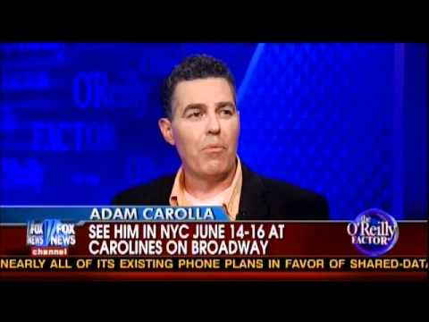 "Bill O'Reilly Interviews Adam Carolla (""Welfare Nation"")"