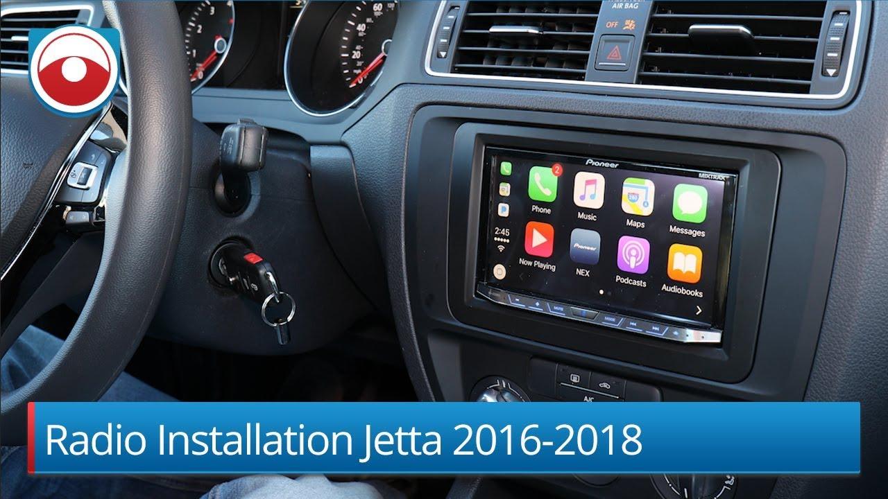 Radio Installation Volkswagen Jetta 2016-2018 - YouTubeYouTube