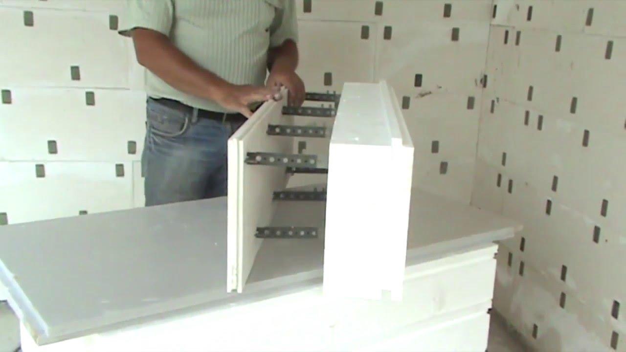 Комблок с минеральной ватой 1