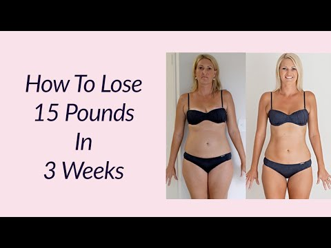 how to lose 15 pounds in 3 weeks | best food to lose weight fast | diet to lose weight in a week