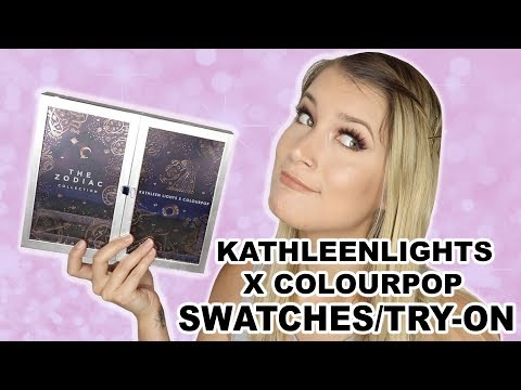 KATHLEENLIGHTS x COLOURPOP TRY ON/SWATCHES thumbnail