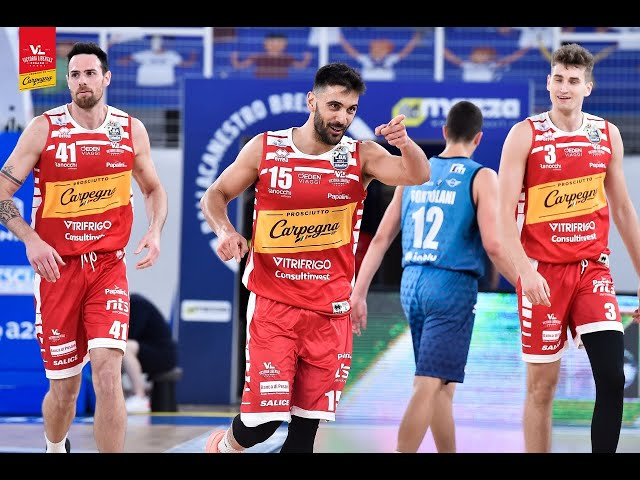 [Highlights] Germani Brescia - Carpegna Prosciutto Basket Pesaro: 86-84