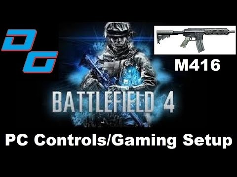 Battlefield 4 PC Xbox 360 Controller Setup - YouTube