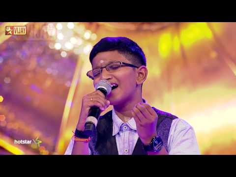 Super Singer Junior - Ilanjolai Poothatha By Aswanth