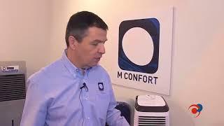 Enfriadores evaporativos de M-Confort, climatización ecológica de bajo consumo energético