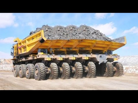 10 Extreme Dangerous MAXIMUM Dump Truck Operator Skill - Biggest Heavy Equipment Machines Working