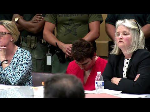 Florida school shooter Nikolas Cruz in court