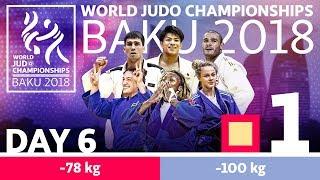 World Judo Championships 2018: Day 6 - Elimination
