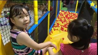 Đồ chơi trẻ em ở khu trò chơi Tiniworld cùng Bảo Trân - Ngôi Sao Nhỏ TV