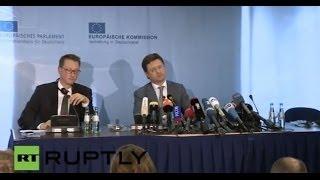 LIVE Russia, Ukraine and EU to continue gas talks