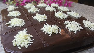 Невероятно Вкусный Шоколадный торт С ИЗЮМОМ Готовиться очень быстро Торт Для любителей шоколада