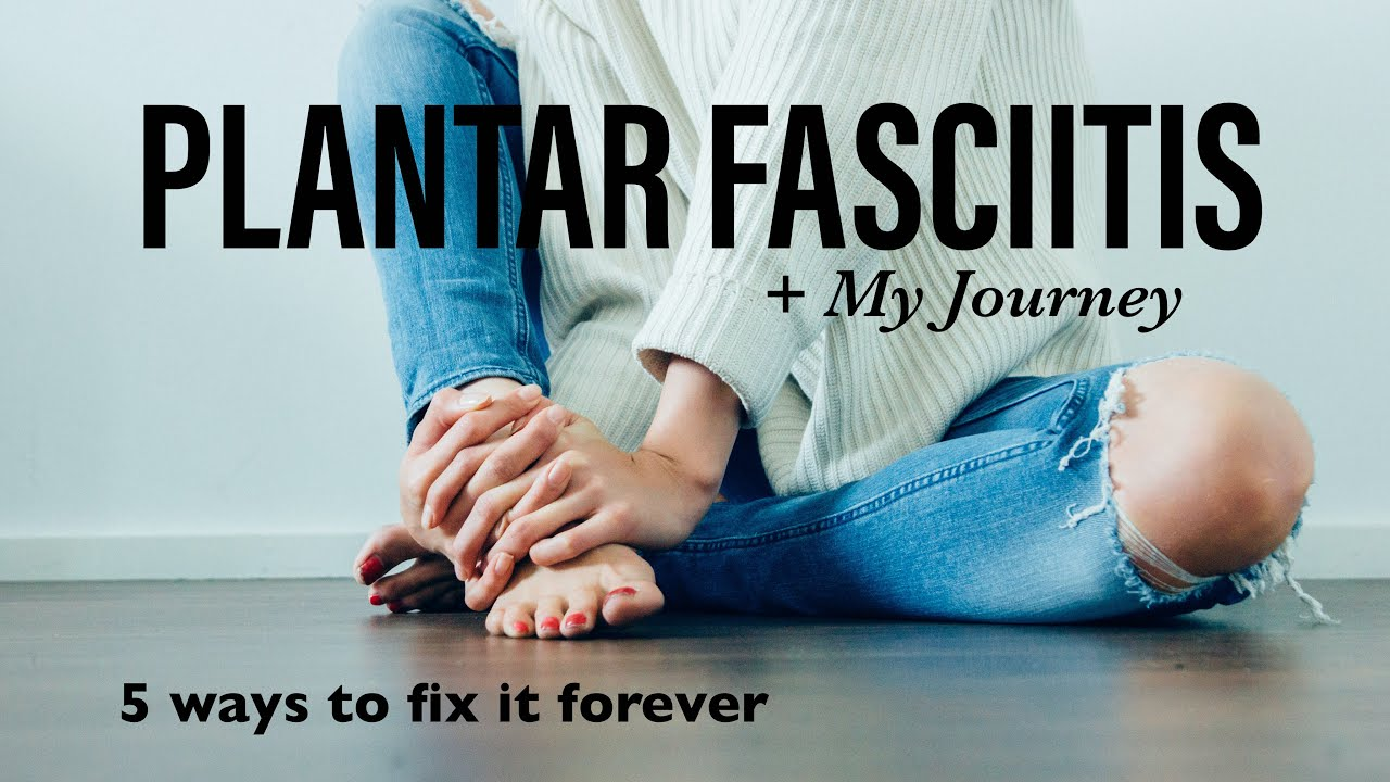 How to treat Plantar Fasciitis in 5 minutes + My Journey | Exercises and Stretches | Travel Physio