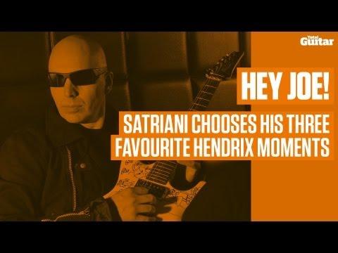 Hey Joe! Satriani chooses his three favourite Hendrix moments (TG239)