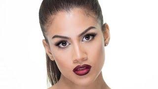 Maquillaje Glam con Labios Oscuros - tutorial thumbnail