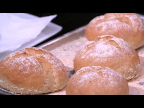 خبز الكامبني وبرجر الفراخ وبطاطس بوم كبريت للشيف محمد حامد | المطعم PNC FOOD