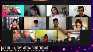 A GIRL + A GUY MediaCon - Meet the cast of Erik Matti's Adult Romance Movie   Alexa Miro, Rob Gomez