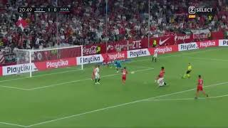 Sevilla vs Real Madrid 2-0 Andre Silva goal 26-09-2018