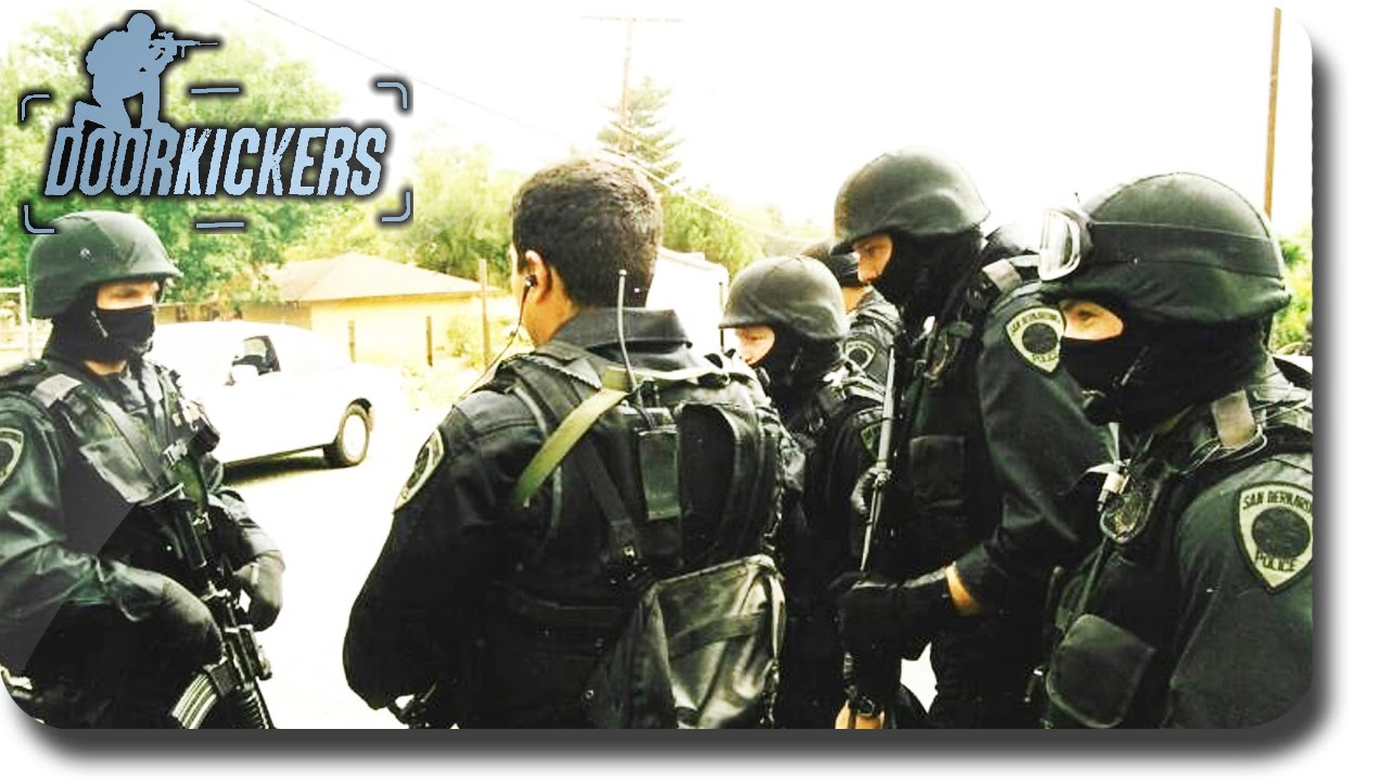 Door kickers drug bust campaign part 2 youtube for Door kickers 2