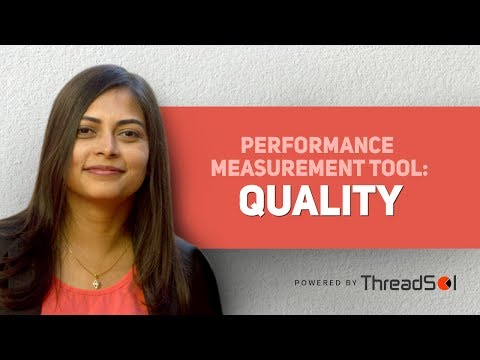 Performance Measurement Tool: Quality