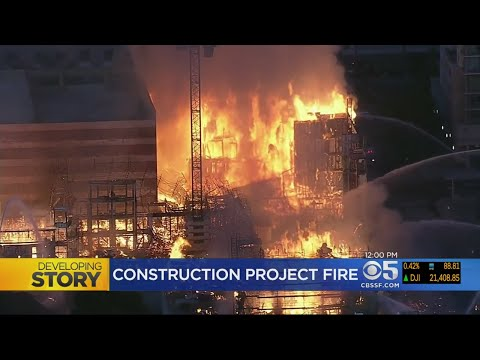 OAKLAND FIRE: Officials promise 'relentless' search for cause of 4-alarm construction project fire