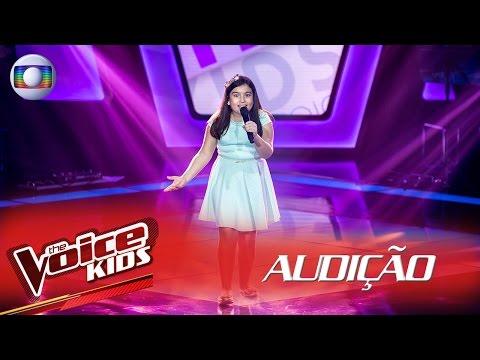Anna Lira canta 'Ciranda da Bailarina' na Audição – The Voice Kids Brasil | 2ª Temporada