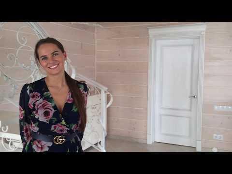 """Обзор """"Белого Дома"""", деревянного дома из клеёного профилированного бруса 207 м²"""