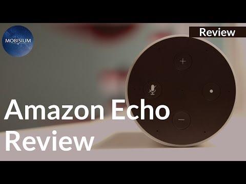 Amazon Alexa Echo Review: Compact Design but Average Sound Quality