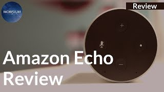Amazon Alexa Echo Review: Compact Design but Average Sound Quality