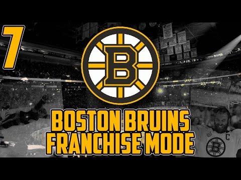 "NHL 17 - Boston Bruins Franchise Mode #7 ""Pittsburgh"""