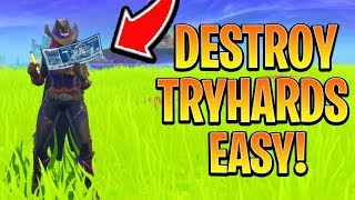 How to Kill SWEATY Teams EASY! Fortnite Ps4/Xbox Tips and Tricks Season 6 (How to Win in Fortnite)