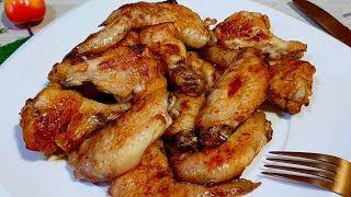 Просто возьмите побольше ЯБЛОК. Самые нежные и сочные куриные крылышки в духовке.