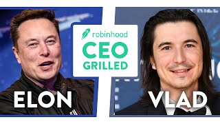 Robinhood CEO GRILLED by Elon Musk Over Gamestop Controversy (Full ClubHouse Interview)