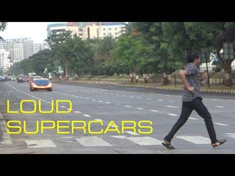 BEST OF SUPERCAR SOUNDS of INDIA | MUMBAI