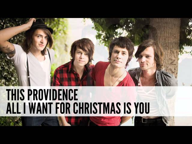 This Providence: All I Want For Christmas Is You (Cover)