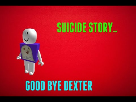 SUICIDE | A ROBLOX SHORT STORY - YouTube
