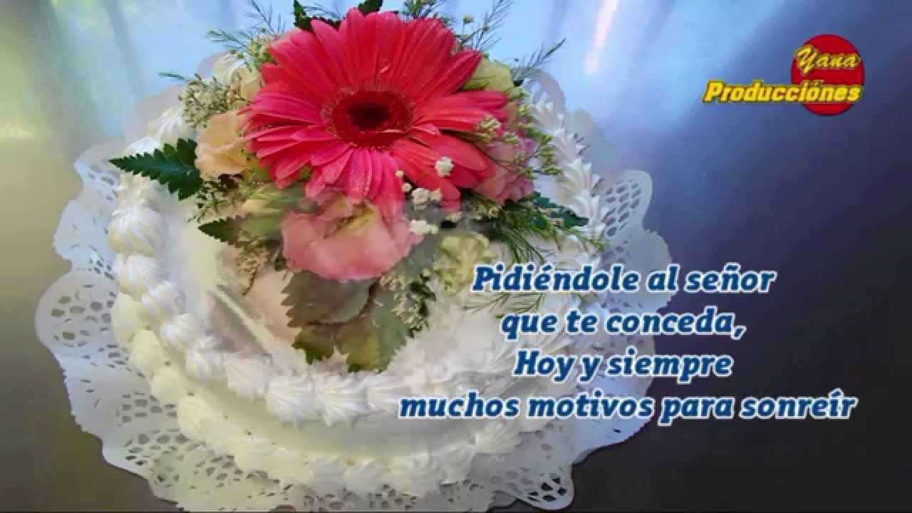 Feliz cumpleanos cristiano flores
