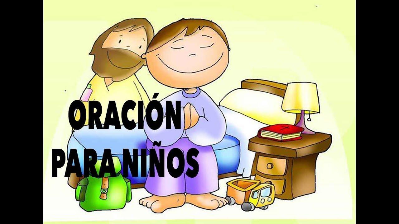 Oracion Para Niños  La Noche  Oraciones Cristianas  Youtube