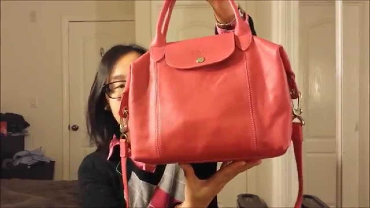 f46485b84710 Longchamp Sale Haul Unboxing - YouTube