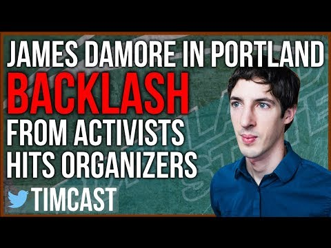 James Damore in Portland, Activists Target College Speaking Event