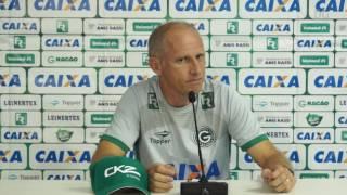 Coletiva do Técnico Silvio Criciúma após a vitória do Goiás diante do Fluminense