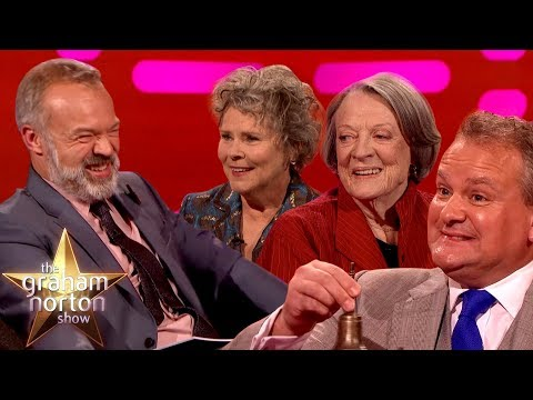 Graham Norton Visits Downtown Abbey!