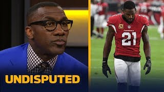 Skip Bayless and Shannon Sharpe react to the news that Arizona Cardinals Captain and star cornerback Patrick Peterson will be suspended for six games due ...