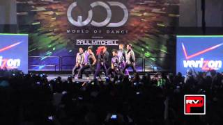 Quest Crew performs at World of Dance 2011