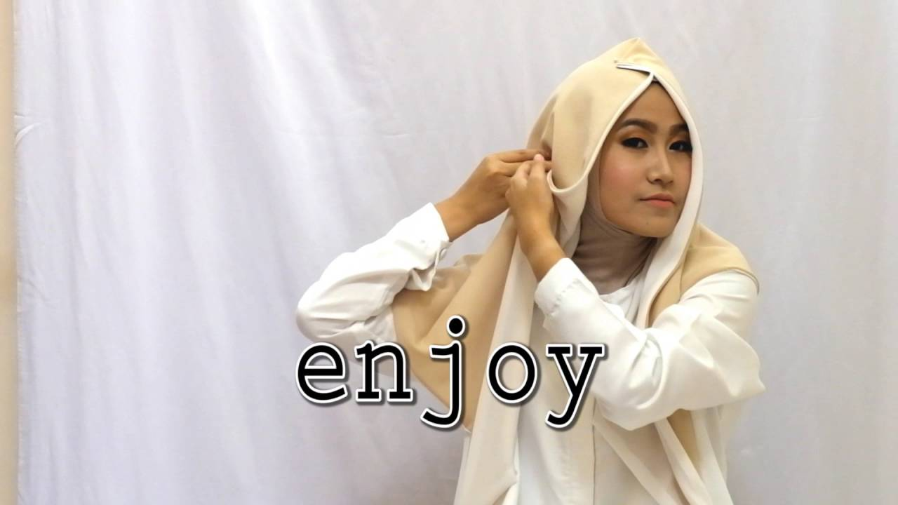 Hijab Tutorial Hana Tajima By Odettemoslemwear YouTube